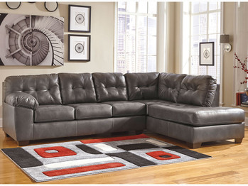 Alliston Gray Left Facing Chaise Sectional