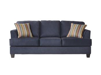 Beamer Blue Queen Sofa Sleeper