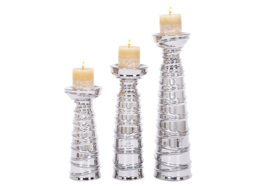 Leiya Three Candle Holder