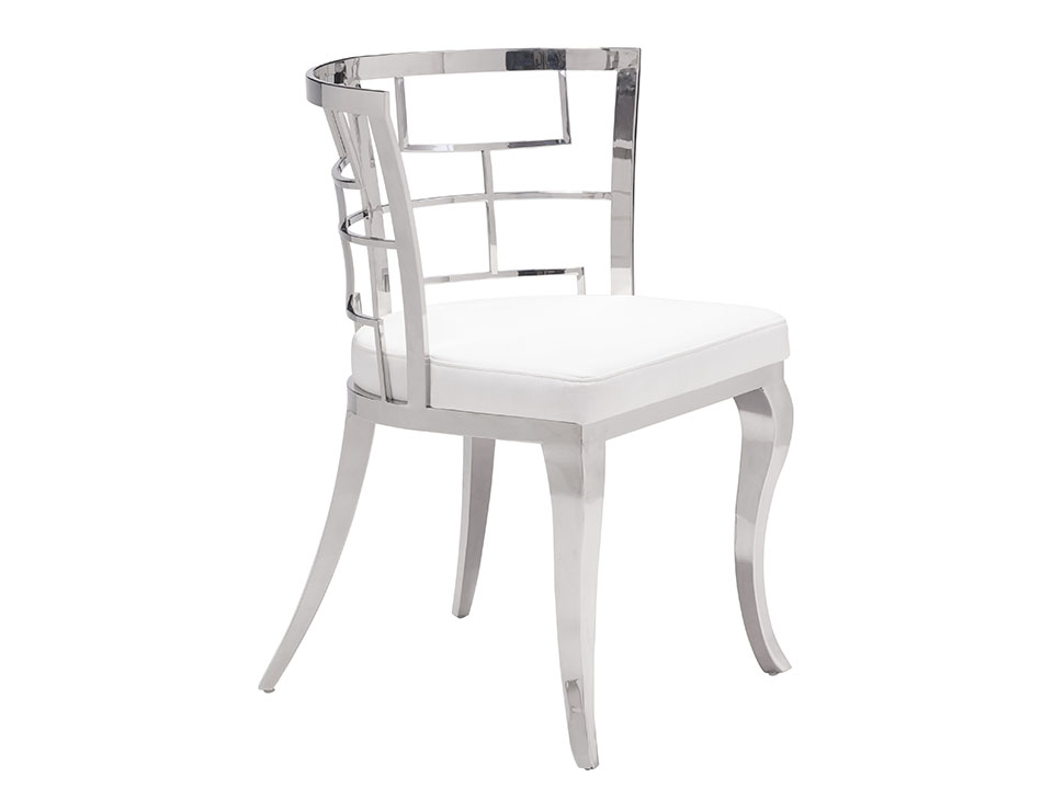 quince white dining chair. Black Bedroom Furniture Sets. Home Design Ideas