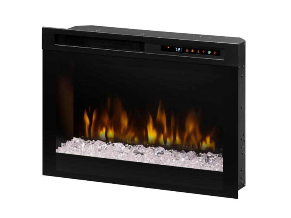 Audio Flex Lex Smoke Sound Bar Fireplace Media Console