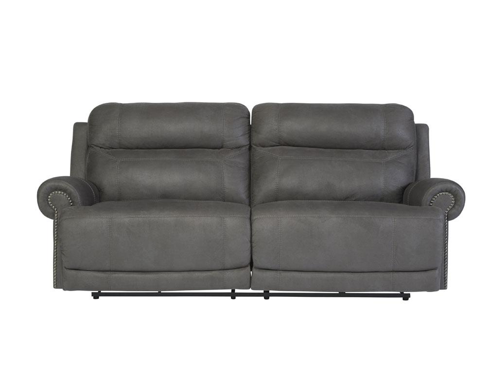 Austere Gray 2 Seat Reclining Power Sofa